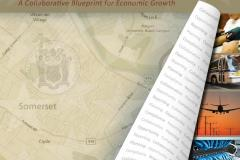 Cover of Investment Somerset a.k.a. the Somerset County Comprehensive Economic Development Strategy