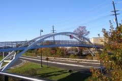 Sgt. Andrew Lobasco Pedestrian Bridge linking Bridgewater and Somerville